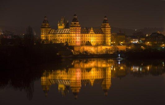 Closed Johannisburg, Aschaffenburg, Castle, Spessart