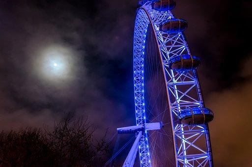 London Eye, Ferris Wheel, England, London
