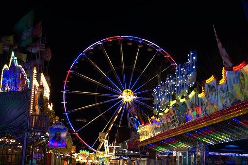 Ferris Wheel, Fair, Folk Festival, Year Market, Ride