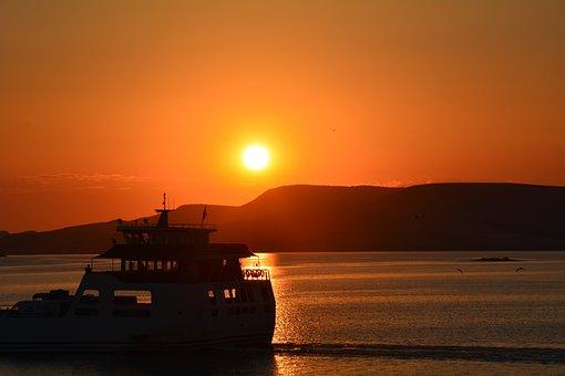 Tunceli, Pertek, Sunset, Tunceli Pertek, Ferry, Elazýð