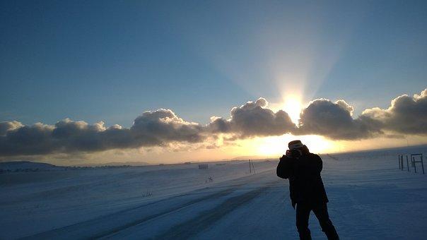 Photographer, Varanger, Finnmark
