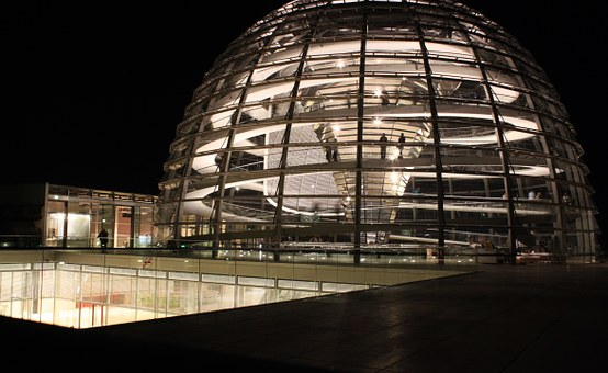 Reichstag, Glass Dome, Government, Building, Berlin