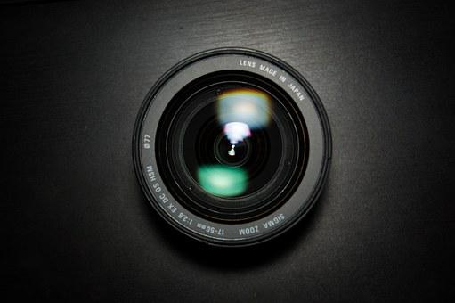 Lens, Sigma, 17-50, Zoom, Photo, Photographer, Glass