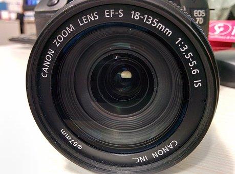 Lens, Camera, Digital Camera, Canon, Dslr, Canon Eos 7d