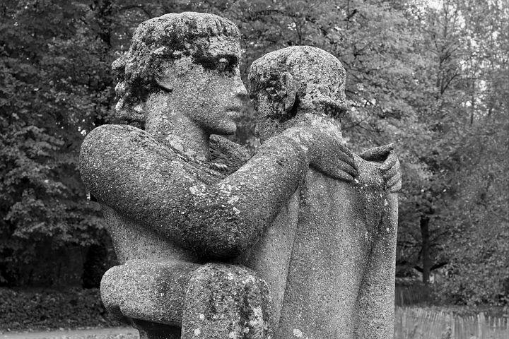 Statue, Image, Love, Embrace