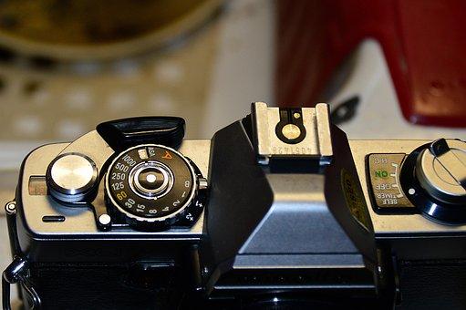 Camera, Minolta, Film, Macro, Photos, Retro