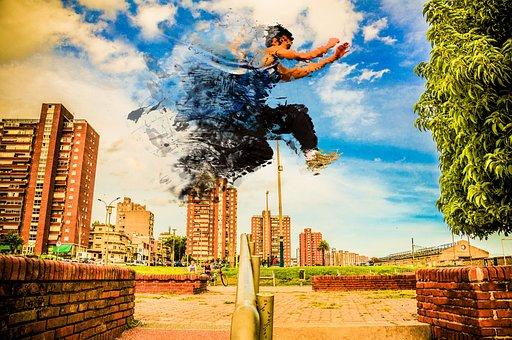 Disintegration, Parkour, Urban, Race, Jump