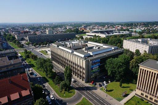 Kraków, Photo, Drones, View, In Advance, City