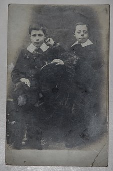 Photograph, Vintage, Boys, Brothers, Children