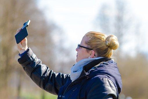 Selfie, Photo, Photograph, Recording, Human