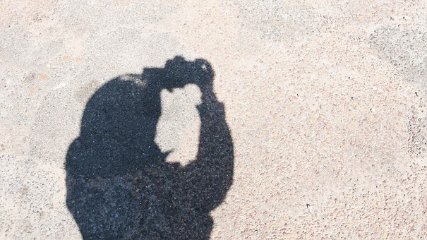 Photographer, Shadow, Picture, Shooting