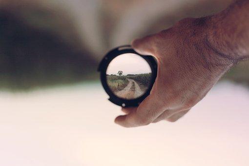 Focus, Telephoto Lens, Lens, Loupe, Hand, Photography