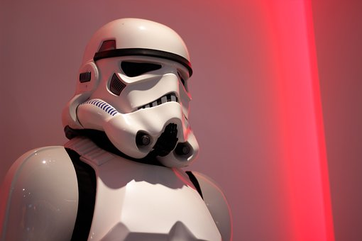Stormtrooper, Star Wars, Red, The Game