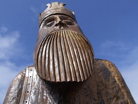 Lewis Chessman, The King, Chess King, Uig, Scotland