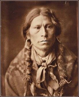 Chief Garfield, Indian, Old, Vintage, Sepia, Antique