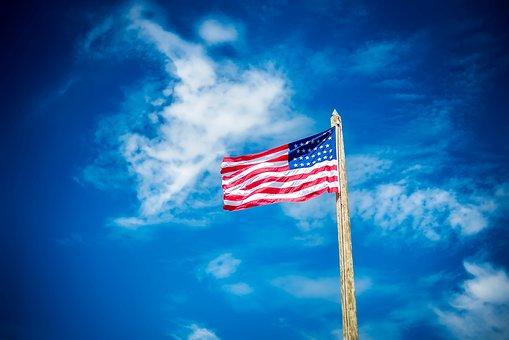 United States, America, Flag, Stars And Stripes