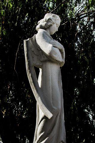 Angel, Wing, Broken, White, Religion, Wounded, Statue