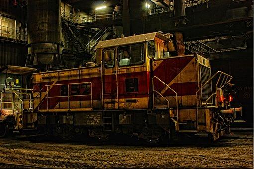 Locomotive, Switcher, Loco, Seemed, Hdr, Railway, Train