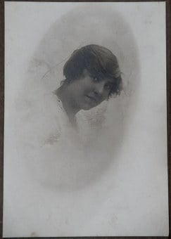 Photograph, Old, Girl, Young, Woman, Female