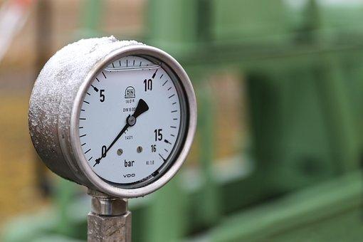 Barometer, Pressure Gauge, Measurement, Technology