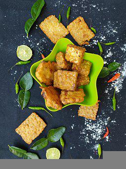 Tempeh, Food, Dish, Tempe, Snack, Tasty, Delicious