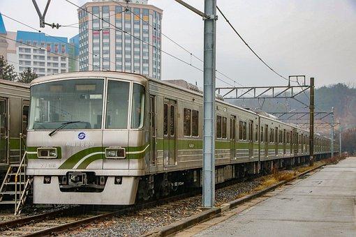 Metropolitan Subway, Seoul Subway, Line 7, Train