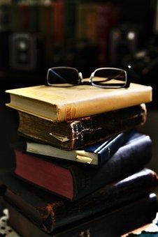 Books, Stack, Glasses, Books Stack, Knowledge, Read
