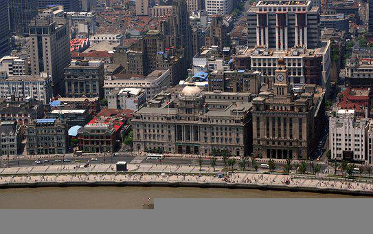 Buildings, Cityscape, Waterfront, Architecture