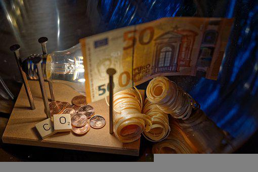 Coins, Lightbulb, Co2, Energy, Emissions Trading