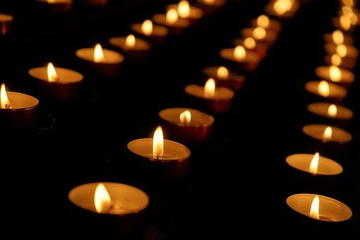 Candle, Candles, Sad, Light, Lights, Fire, Church