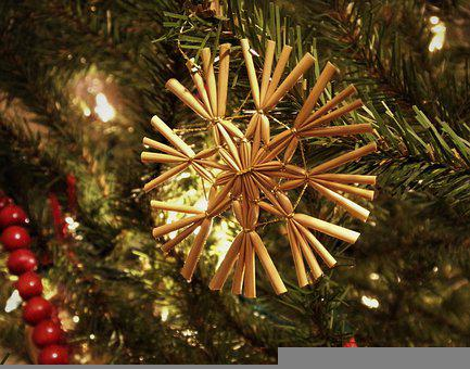 Ornament, Christmas, Wooden, Decoration, Holiday, Tree