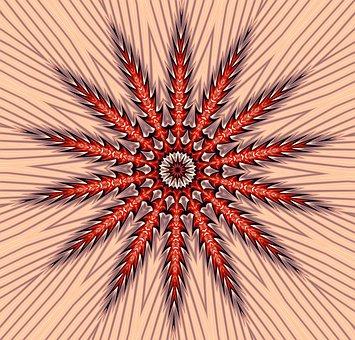 Kaleidoscope, Mandala, Default, Arrows, Geometric