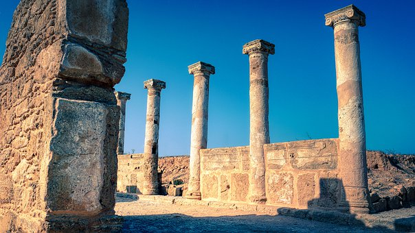 Pillars, Columns, Ruins, Columnar, Antiquity