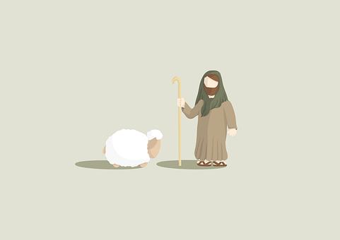 Jesus, Sheep, Christianity, Jesus Christ, Christ, God