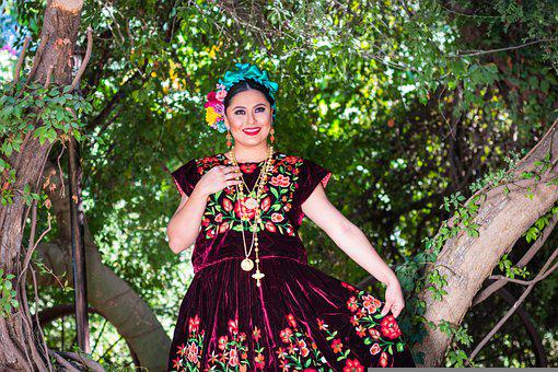 Dance, Joy, Dancer, Mexico, Happiness, Typical Costume