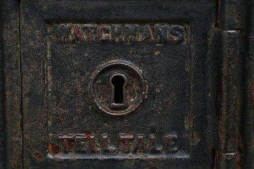 Keyhole, Lock, Key, Door, Security, Unlock, Secret
