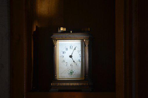 Old Clock, Clock, Antique, Vintage, House, Clockwork