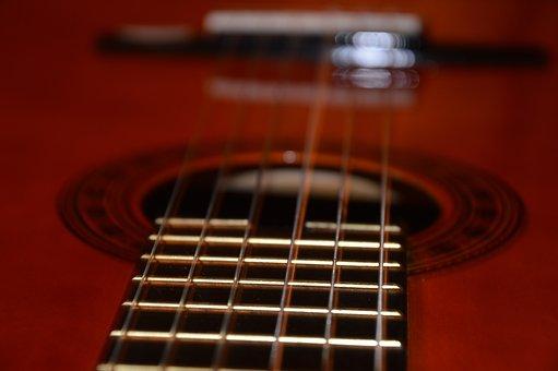 Guitar, Music, Acoustic Guitar, Musical Instrument