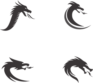 Dragons, Icons, Logos, Symbols, Dragon Icons
