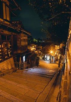 Kyoto, Japan, Kyoto Night, Filter