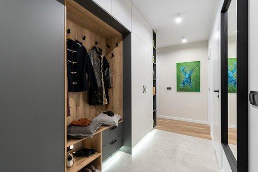 Wardrobe, Mirror, Corridor, Clothes, Closet, Clothing