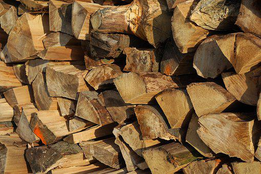 Wood, Firewood, Pieces Of Timber, Woodpile, Wooden