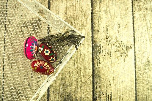 Eggs, Easter, Easter Eggs, Basket, Easter Basket