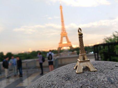 Eiffel Tower, Paris, France, Tourism, Europe