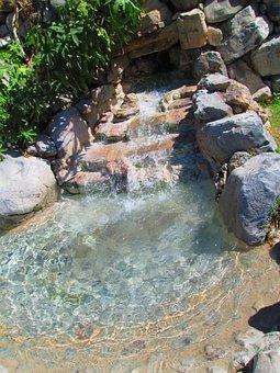 Fuente, Agua, Decoración