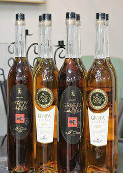 Grappa, Brandy, Alcohol, Digestif, Benefit From