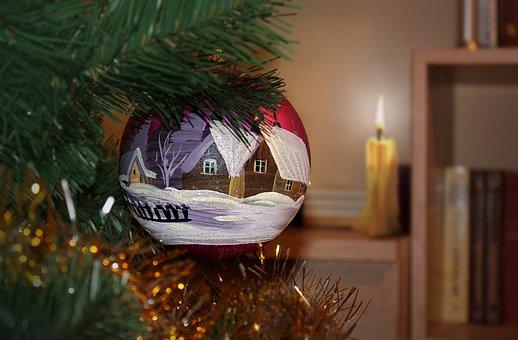 New Year's Eve, Christmas, Christmas Ball
