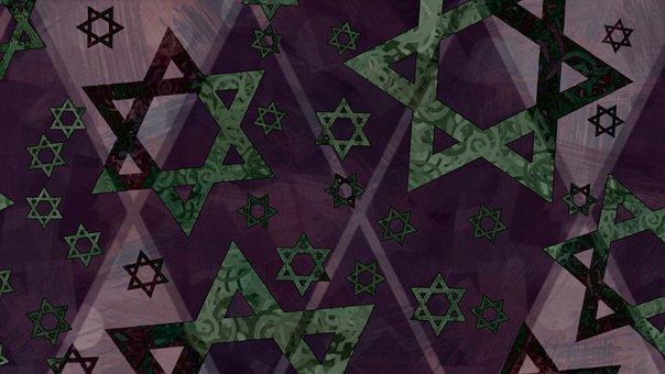Star Of David, Magen David, Jewish, Judaism
