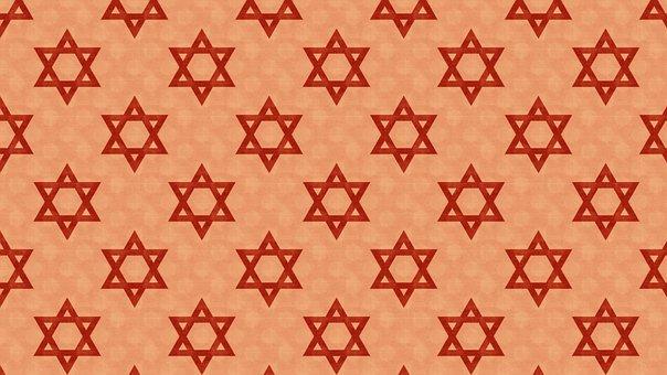 Star Of David, Magen David, Jewish, Judaism, Wrapping
