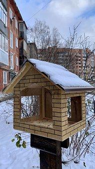 Original Birdhouse, Perm Streets, Gaiwa, Russian Yard